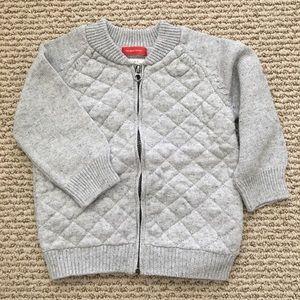 Other - Zara grey zip up sweater.